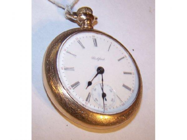 10119: Rockford Plymouth Watch Co. King Edward PW