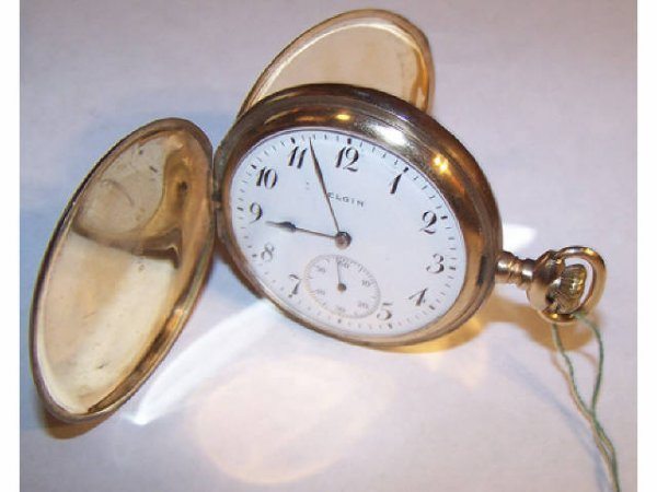 10121: Elgin 15 Jewel Pocket Watch
