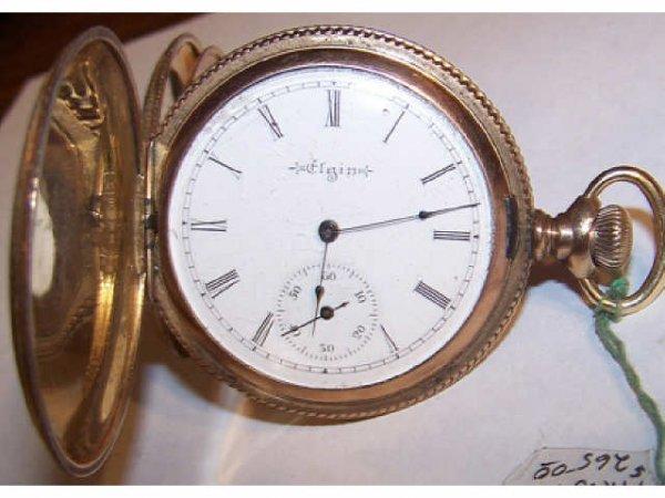 10122: Elgin 7 Jewel Pocket Watch