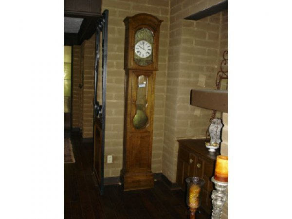 7019: 19th Century French Mobier Tall Case Clock
