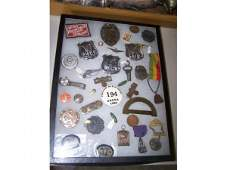 255 Badges Pins Medals Patches Group Lot