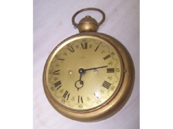 302: Keywind Pocket Watch Trade Store Clock