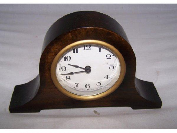 304: Ingraham Miniature Camelback Mantle Clock