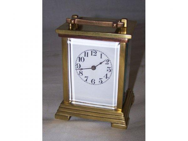 307: Waterbury Brass Carriage Clock