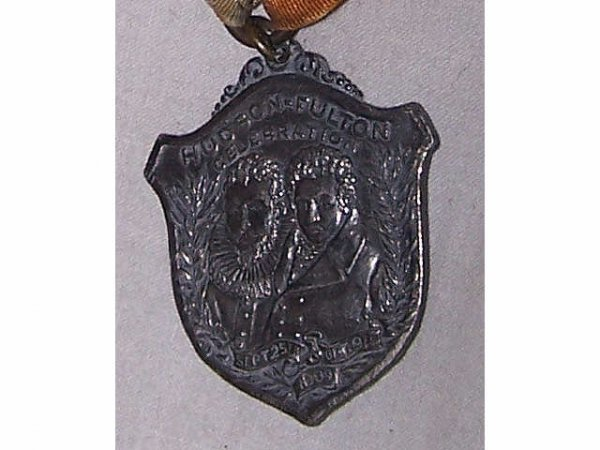 316: Hudson-Fulton Commerative Medal Ribbon
