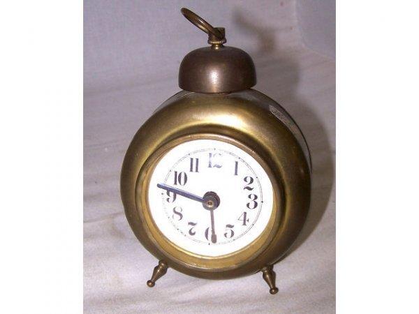 320: Gilbert Bros. Brass Alarm Clock