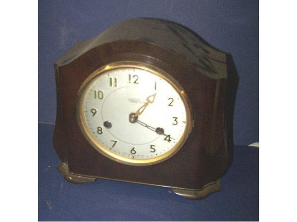 324: Vintage Deco 8 Day Time and Strike Clock