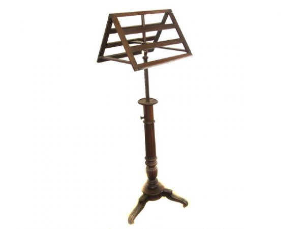 1085: Fine Georgian Rosewood Double Music Stand