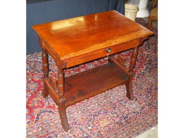 896: Fine Cherrywood Victorian Ladies Writing Desk