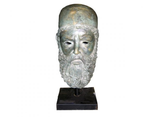 700: Bronze Roman Style Figural Bust