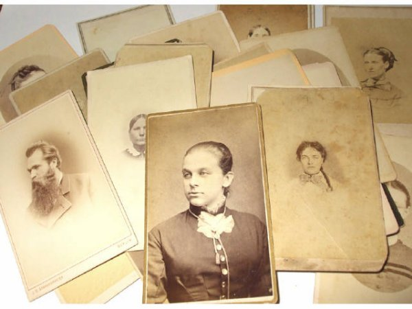 1: Lot of 26 Victorian Photographic Images