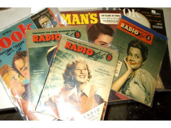 400: Lot of 1940s Periodical Magazines
