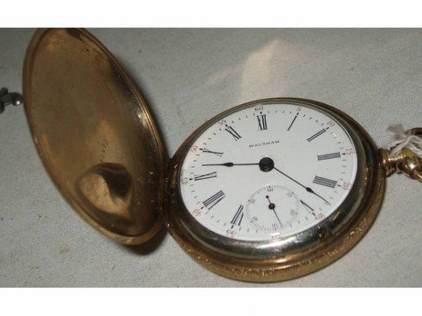 565: A Good Waltham 15 Jewel Vintage Pocket Watch