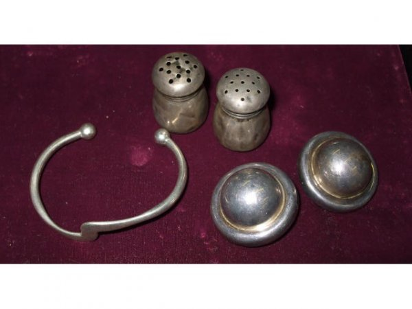 705: Lot of Sterling Silver Estate Items