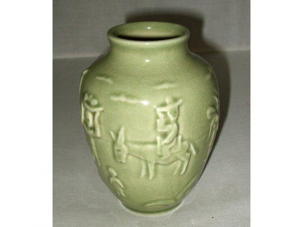 711: Rookwood Art Pottery Scenic Vase
