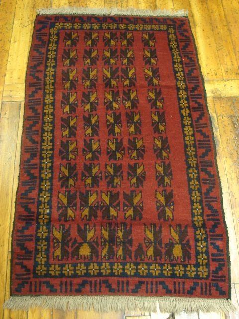 1316: Very Nice Persian Entry Rug