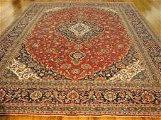 1358: Large Hand Tied Persian Room Rug