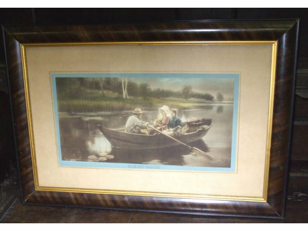 "1045: Morris & Bendien ""In Quiet Waters"" Print"