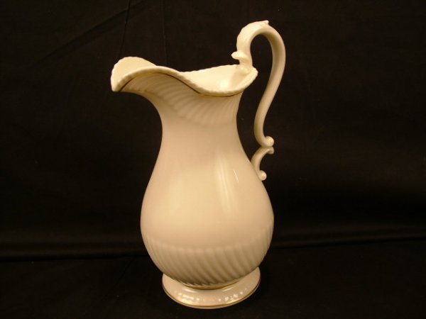 9302: Lenox Porcelain Store Sample Pitcher