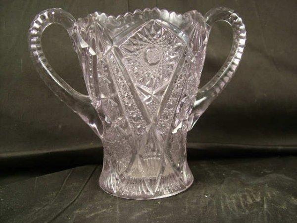 9315: Early Pattern Glass Spooner