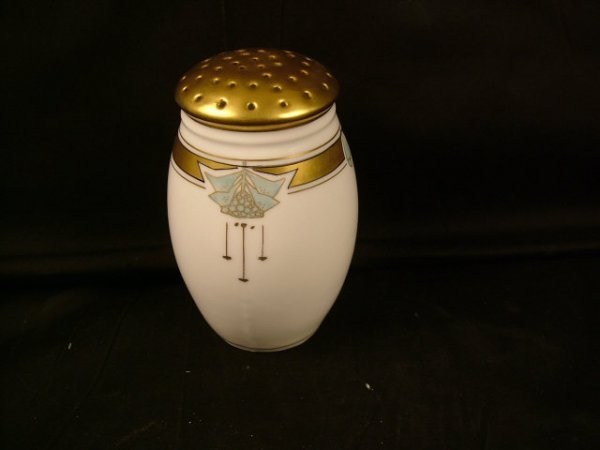 9320: Pickard Decorated Sugar Shaker