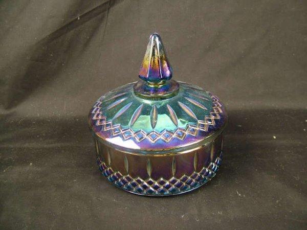 9004: Vintage Amethyst Covered Carnival Dish
