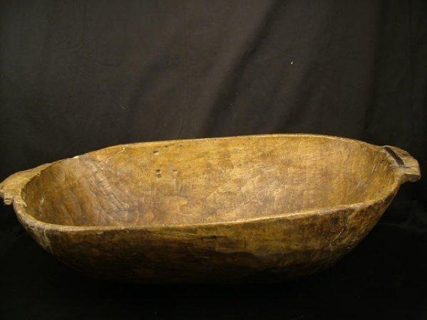 9005: Antique Wooden Dough Trough