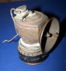 105: Justrite Miners Carbide Lamp