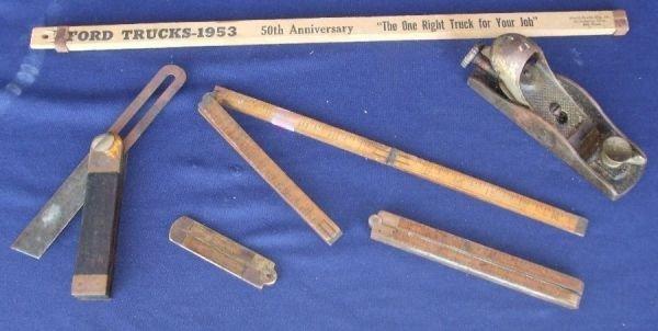 115: Nice Lot of Vintage Tools