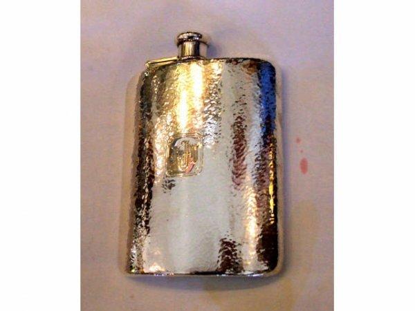 13003: FINE STERLING Tiffany & Co. Flask