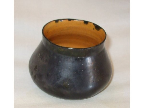13012: Fine George OHR Art Pottery Vessel