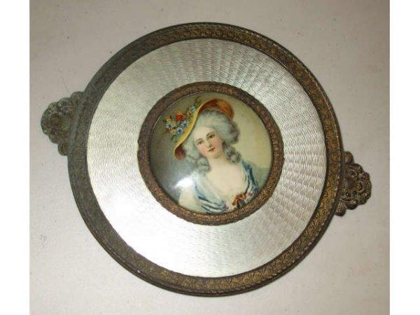 10011: Fancy French Lady Beaudoir Wall Hanger