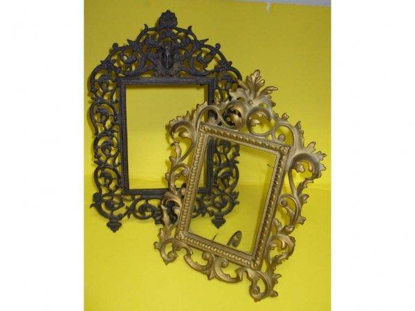 974: 2 Antique Fancy Picture Frames