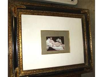 985: Fine Classical Nude Print