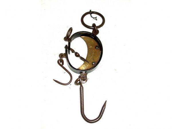 1610: Antique Brass Buffalo Hide Scale