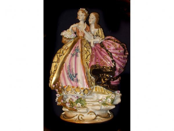 1623: Monumental Dresden Figural