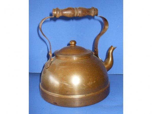 510: Vintage Early 20th Century Copper Tea Pot