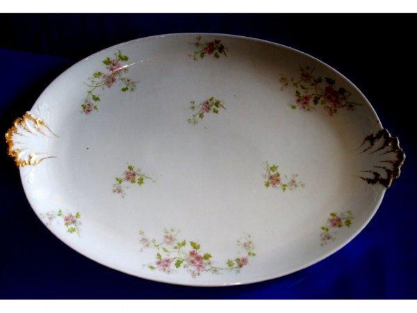 513: Limoges China Large Serving Platter