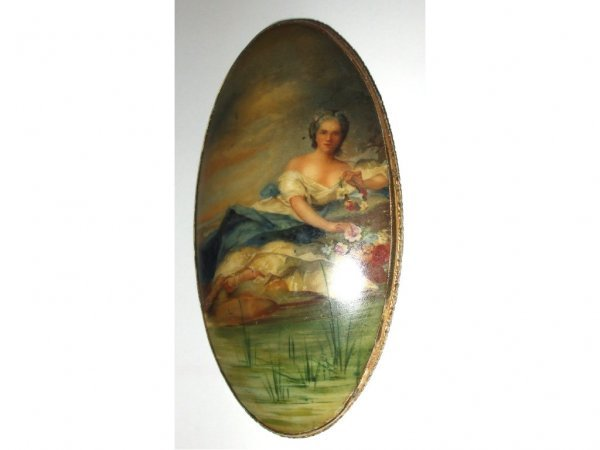 2004: Fine French Porcelain Plaque