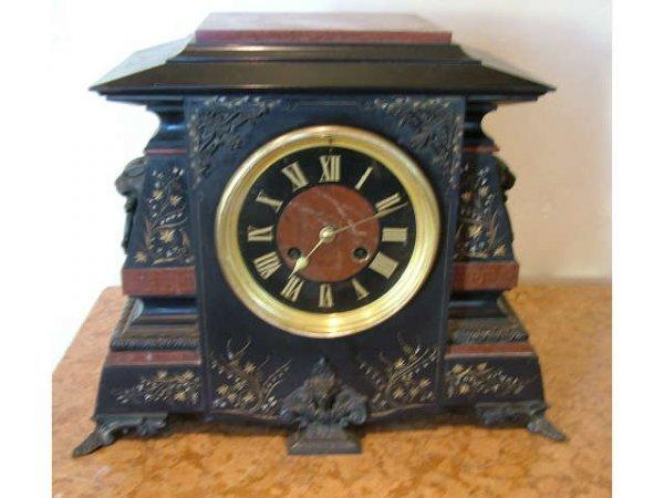 2016: Fabulous Tiffany & Co. Marble & Slate Clock