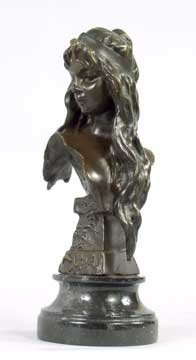 2050: Bronze Bust of French Girl