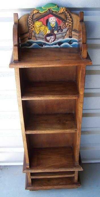 2395 Teak Noahs Ark Bookshelf