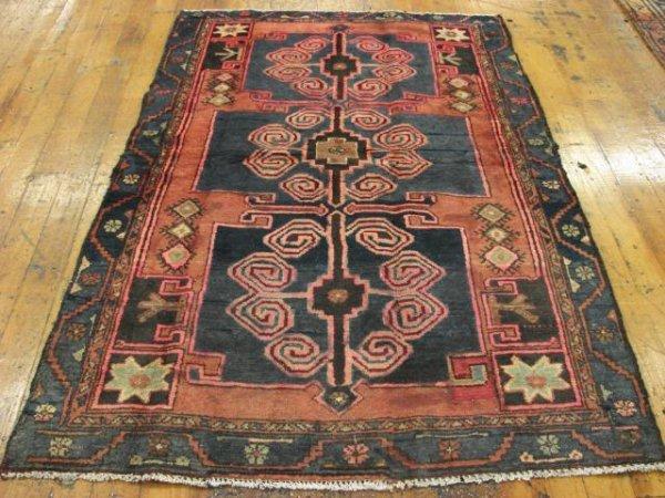 3454: Khamseh  Persian Rug