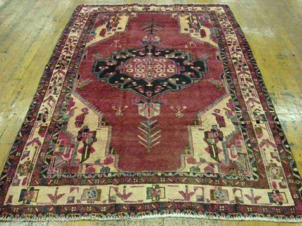 3455: Fine Hamedan Persian Rug