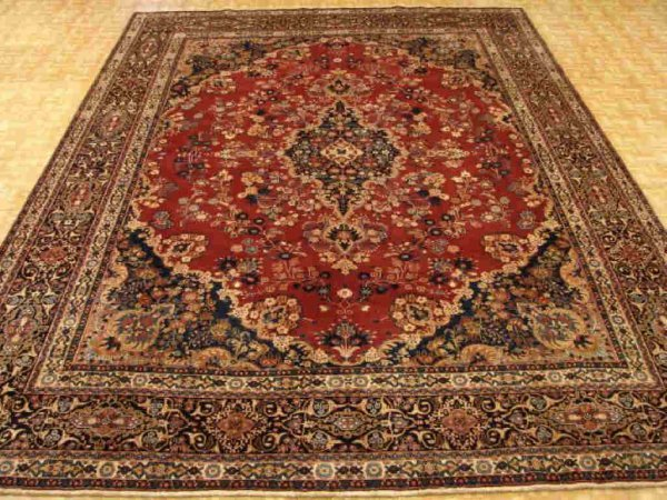 3456: Ultra Fine Khorasan Persian Rug