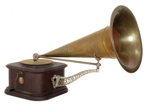 3458: Columbia Disc Graphophone