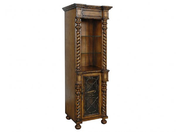 1: Tuscan Flavor Open Bookcase