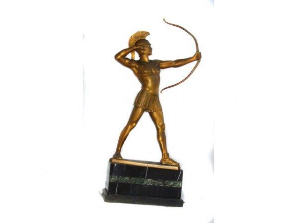 189: L. Rieder Trojan Archer Figural Study