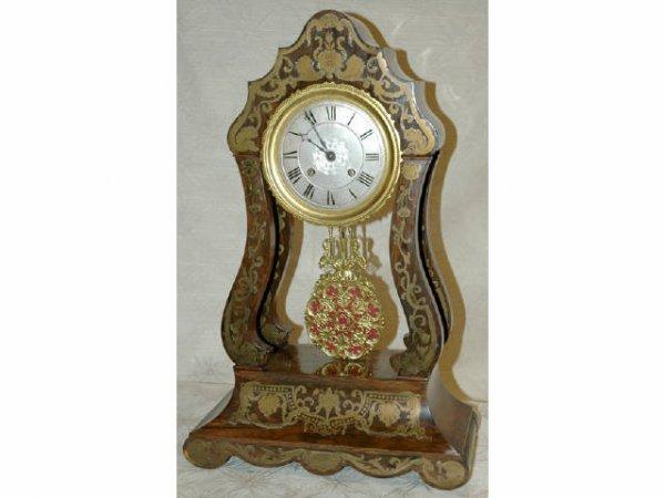 356: Fine Rosewood Empire II Clock