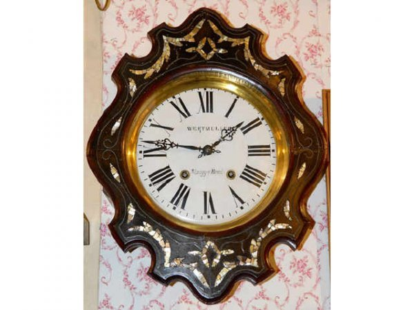 357: Morbier French MOP Clock